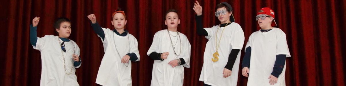 Rap на фестивале детских и юношеских спектаклей на иностранном языке
