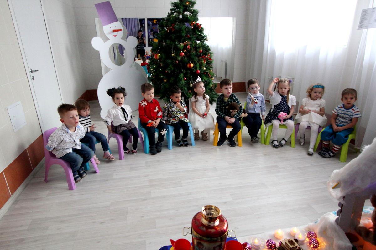 Игрята Новый год с Дедом Морозом. Декабрь 2018