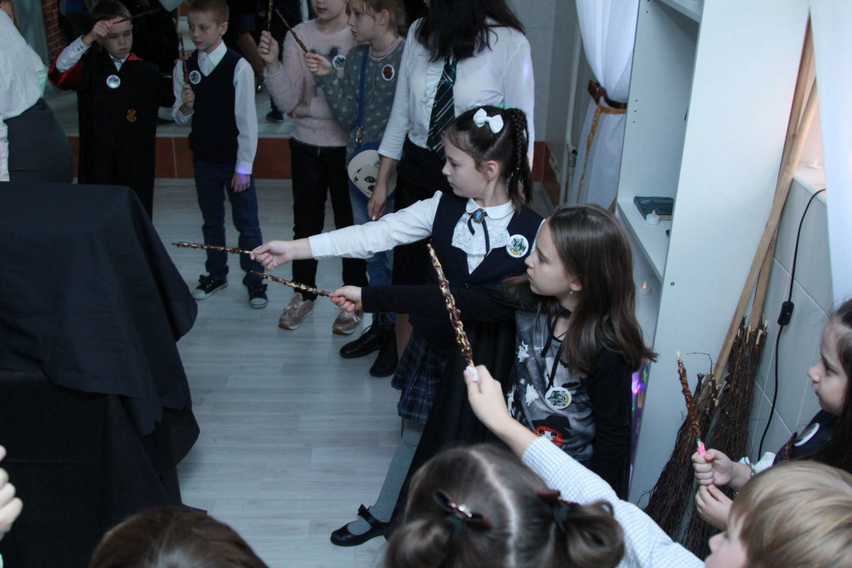 26.10.2018 15.00 Квест-игра Хогвартс и магические стражи