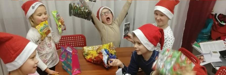 Santa gift exchange
